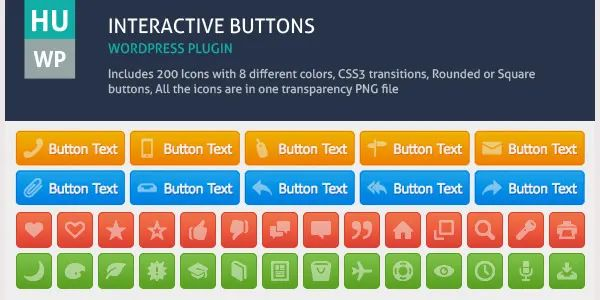 interactive web templates