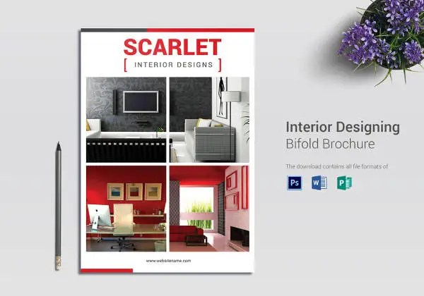 23+ Interior Decoration Brochure Templates \u2013 Free Word, PSD, PDF - brochure format word
