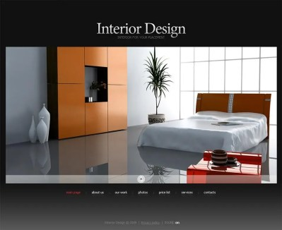 6+ Best Swish Interior Website Themes & Templates | Free ...
