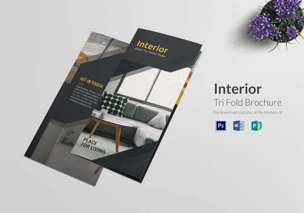 22+ Interior Decoration Brochure Templates - Word, PSD, PDF, EPS