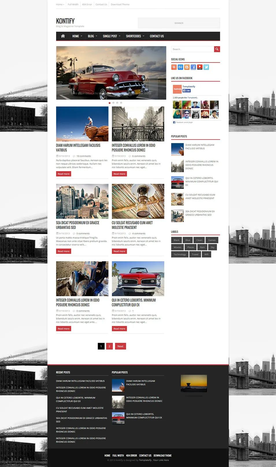 blogger news templates free download