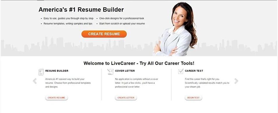 21+ Top Best Resume Builders 2018 Free  Premium Templates