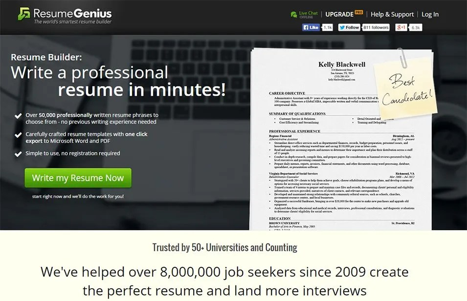 best resume builder software - Boatjeremyeaton - free resume builder software