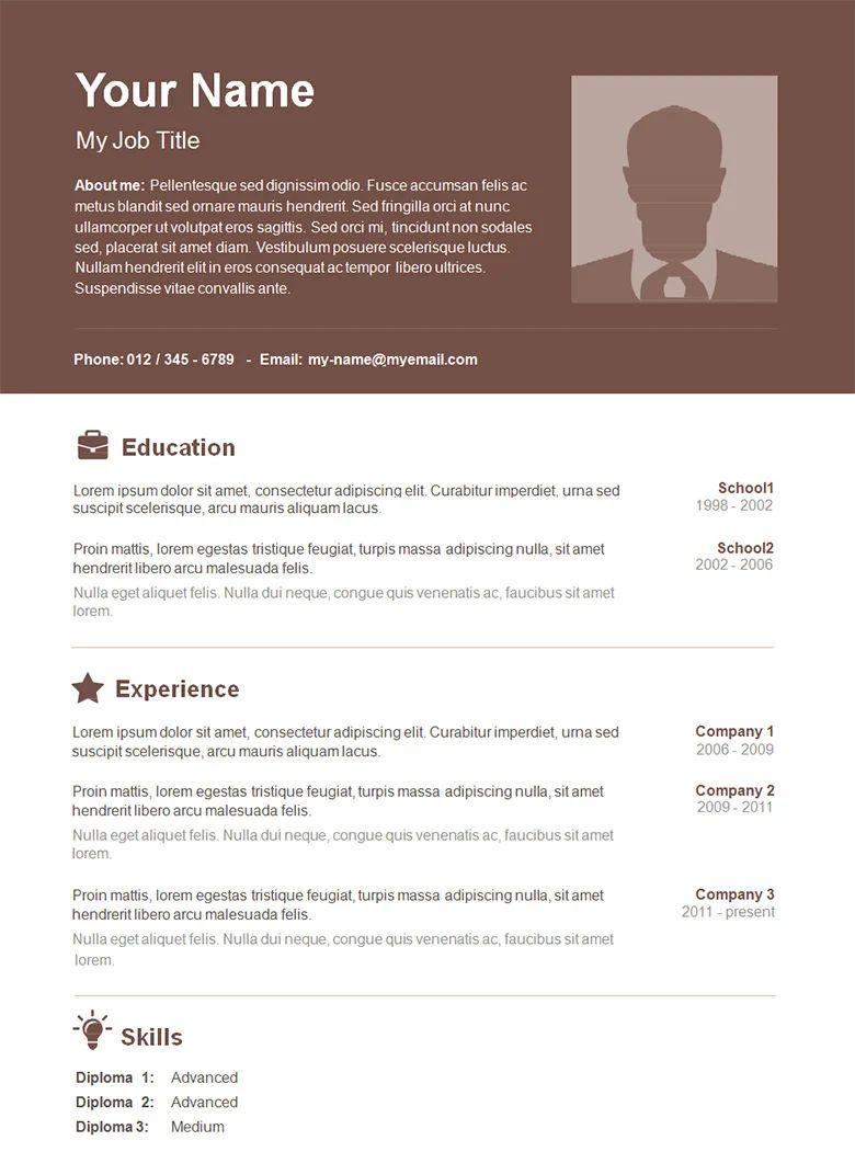 basic resume samples for free