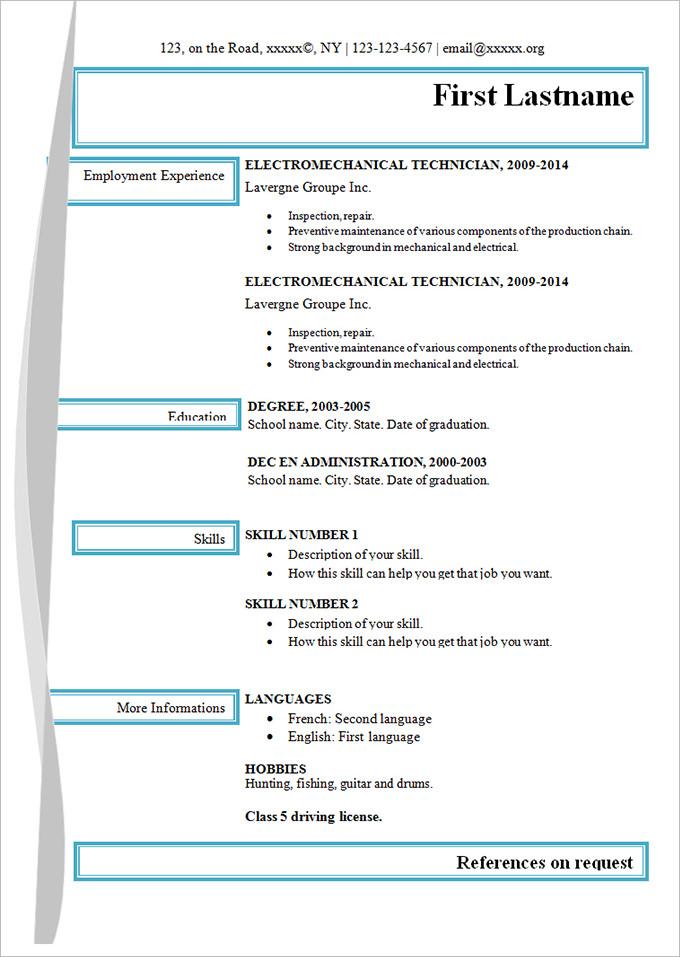 resume respiratory therapist
