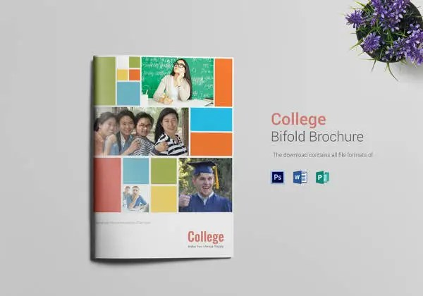 College Brochure Templates \u2013 41+ Free JPG, PSD, Indesign Format
