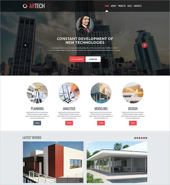 41+ Construction Website Themes  Templates Free  Premium Templates