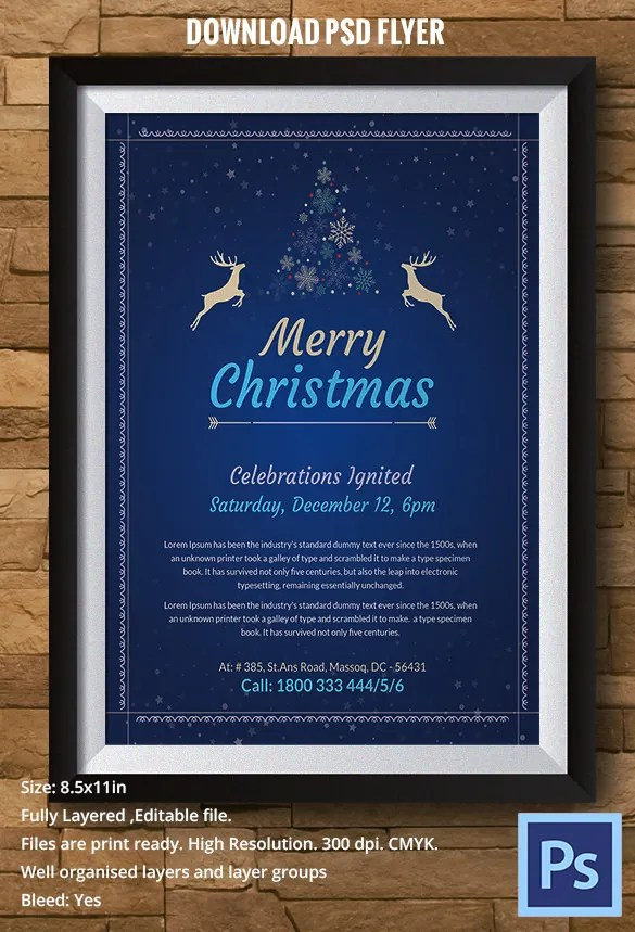 78+ Christmas Flyer Templates - PSD, AI, Illustrator, Word Free
