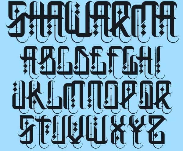 Arabic Calligraphy Fonts \u2013 42+ Free TTF, Photoshop Format Download