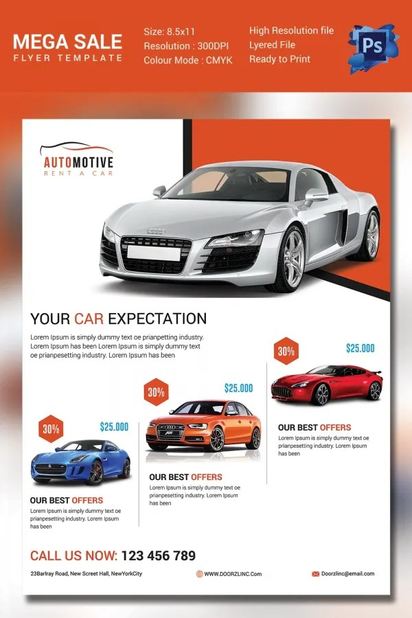 Car Sales Website Template Free Image collections - Template Design