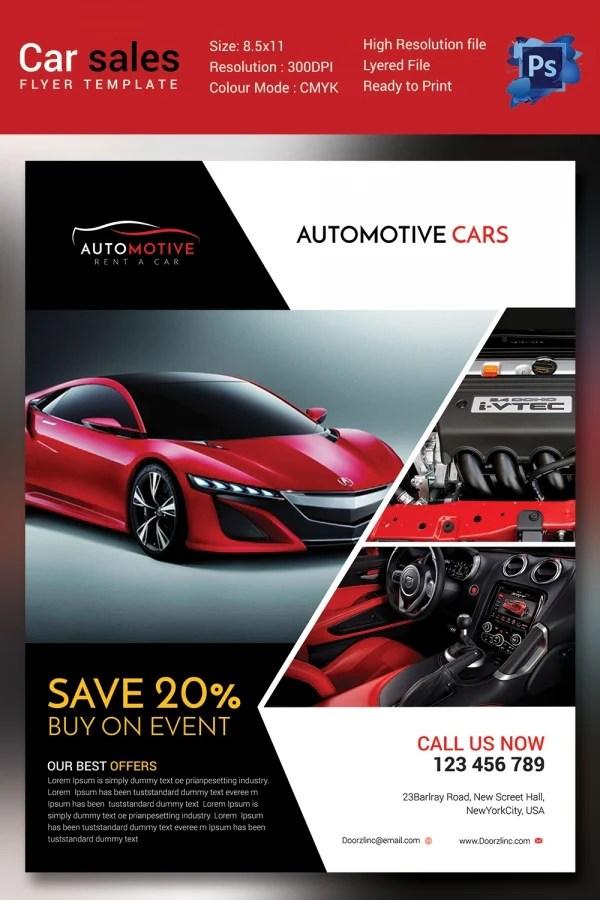 Car For Sale Flyer used car sales flyer template - asliaetherair - car sale flyer