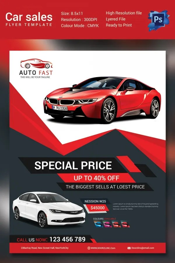 Car For Sale Flyer Template Free Microsoft Word Templates