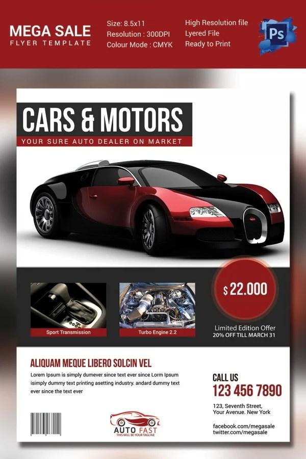 Car Sale Flyer Best Premium Printable Car Template Car - Car for sale flyer template free
