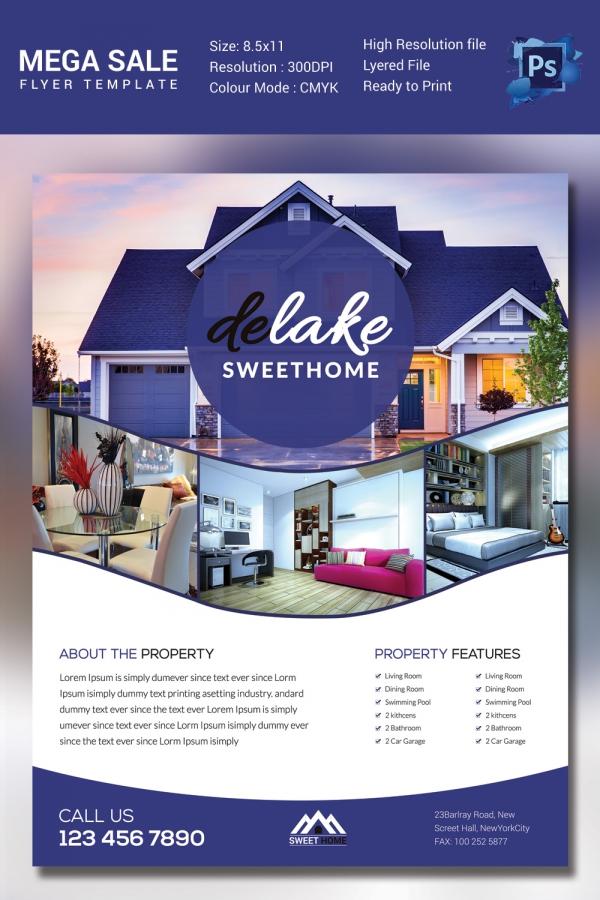create home for sale flyer - Nurufunicaasl