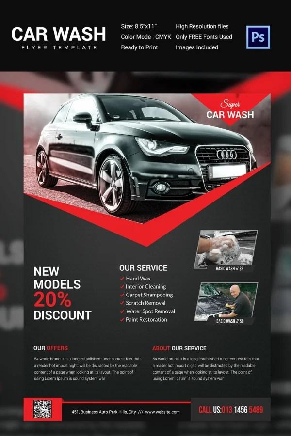 Car Flyers - vheo - car ad template