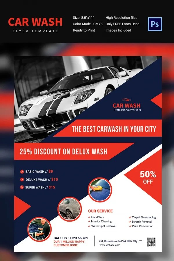 Discount Flyer Template Sale Flyer, Template Or Brochure Design - car for sale flyer template