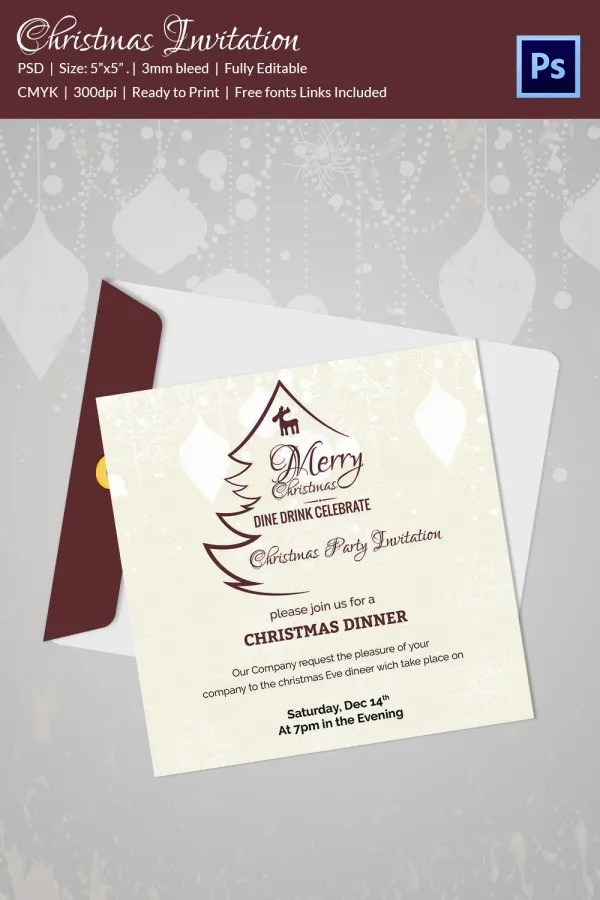 20+ Christmas Party Templates - PSD, EPS, Vector Format Download