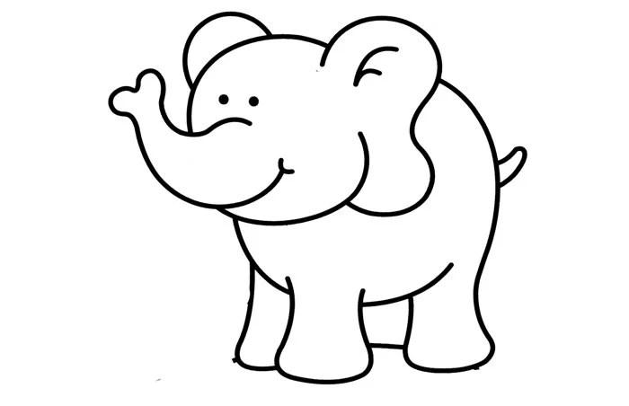 Elephant Template - Animal Templates Free  Premium Templates