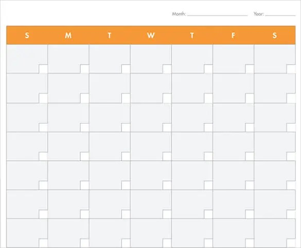 Monthly Timetable Template Best 20 Blank Calendar Ideas OnBlank - printable blank calendar