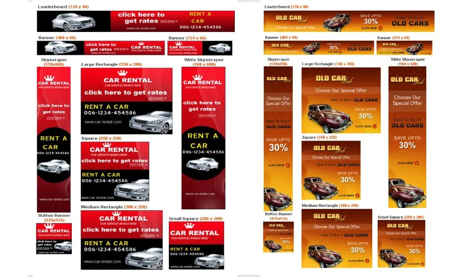 Banner Ad Template \u2013 50+ Free PSD Format Download! Free  Premium - car ad template