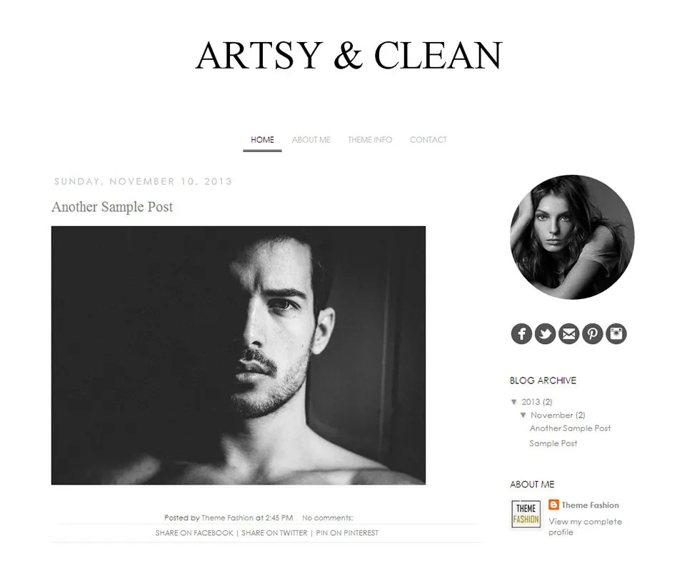 15+ Blog Templates  Themes for Designers Free  Premium Templates - fashion blogger templates