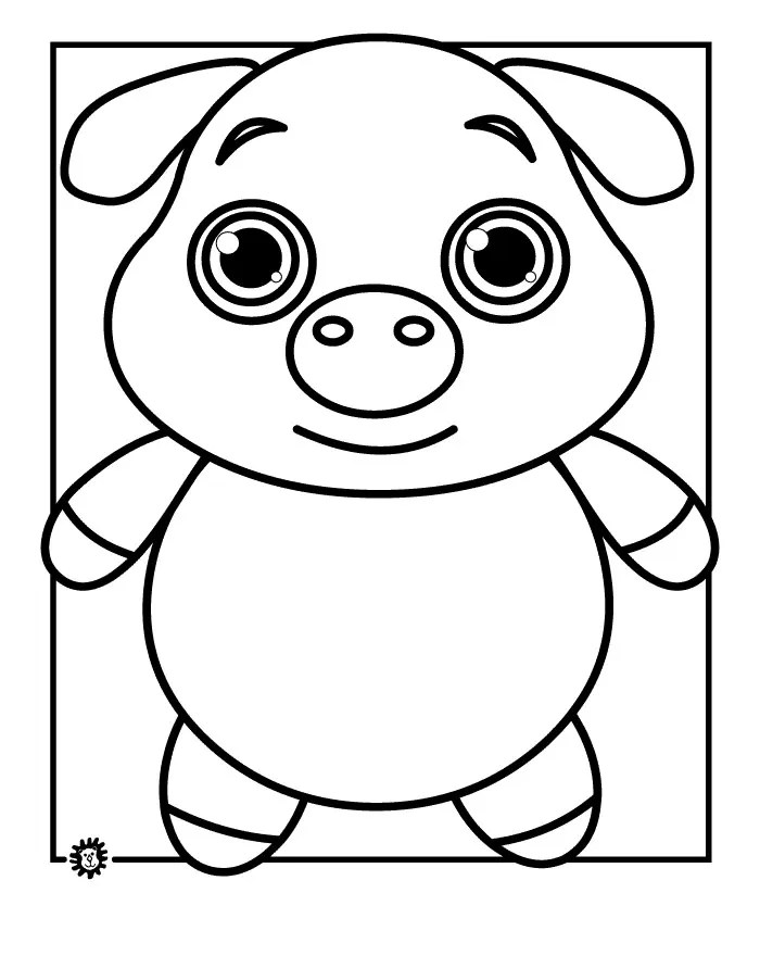 70+ Animal Colouring Pages Free Download  Print! Free  Premium