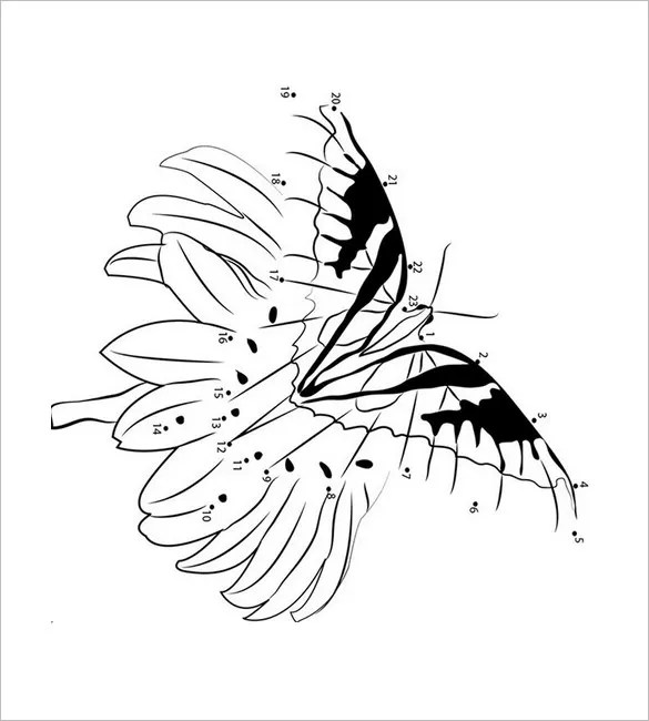 28+ Butterfly Templates - Printable Crafts  Colouring Pages Free