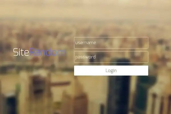 29+ Remarkable HTML  CSS Login Form Templates Download! Free