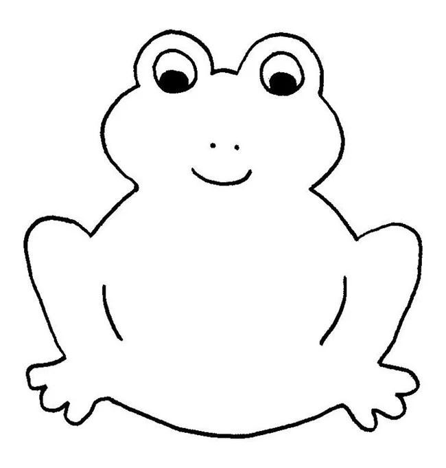 Frog Template - Animal Templates Free  Premium Templates
