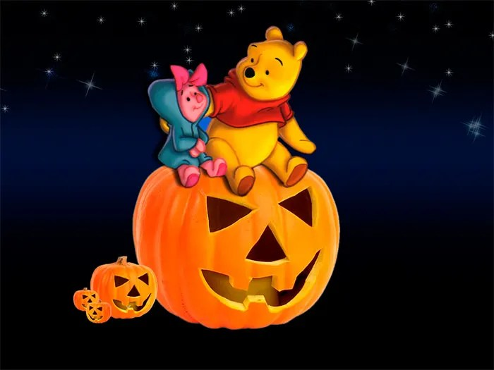 Winnie The Pooh Fall Desktop Wallpaper 50 Best Halloween Backgrounds For Download Free