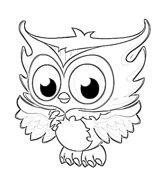 Fresh Cute Owl Coloring Pages To Print Cool Ga #1671 - Unknown - fresh www happy birthday coloring pages com