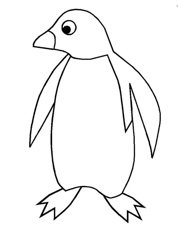 penguin template - Romeolandinez