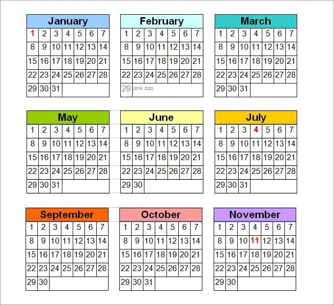Perpetual Calendar Template For Word Calendar Template 41 Free Printable Word Excel Pdf Perpetual Calendar Calendar Template Free And Premium