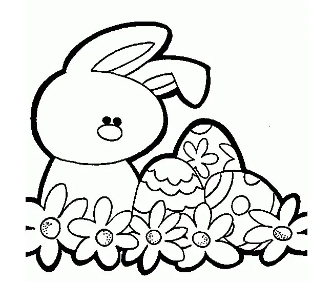 60+ Rabbit Shape Templates and Crafts  Colouring Pages Free
