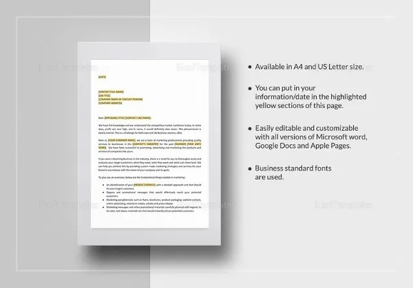 34+ Best Marketing Proposal Templates  Samples Free  Premium - marketing proposal templates