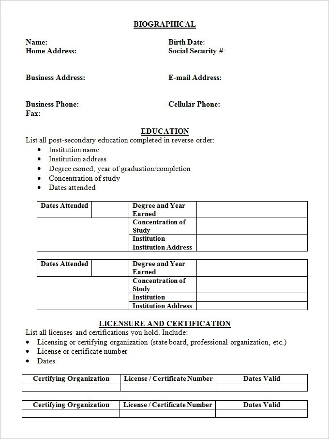 Resume Templates Samples Best High School Resume Template Ideas On - Cv Forms Samples