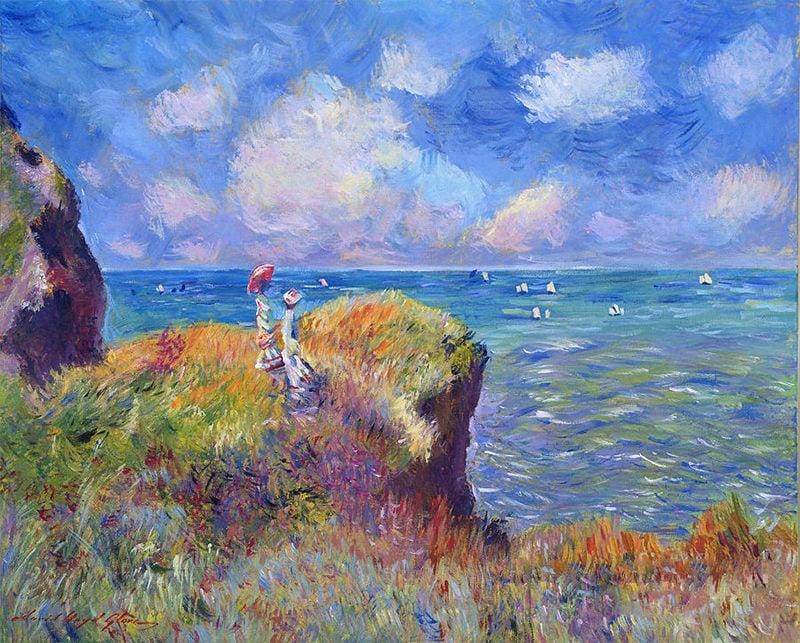 Monet Painting, Impressionist Paintings Free  Premium Templates