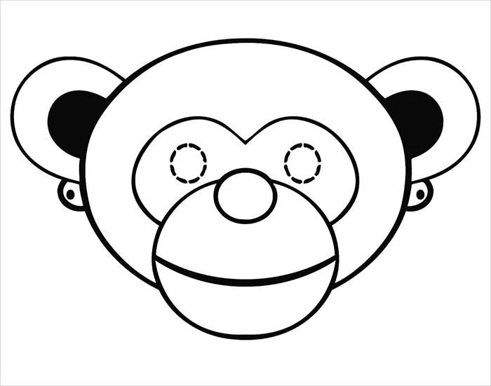 Animal Mask Template - Animal Templates Free  Premium Templates