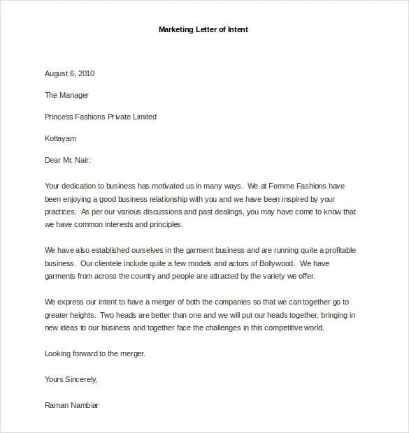 sample business marketing letter - Ozilalmanoof - marketing proposal letter
