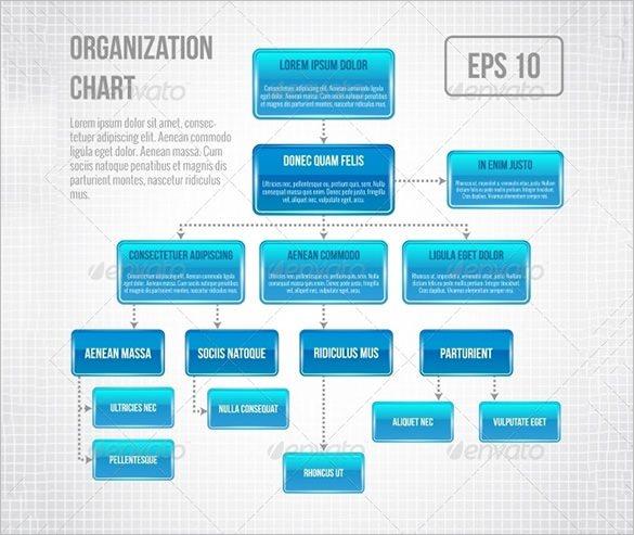 organization chart in word format