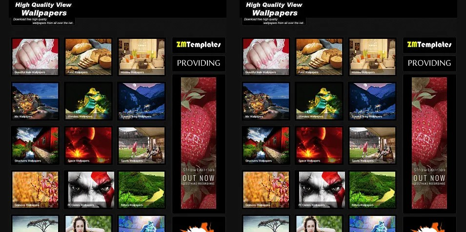 30+ Best Gallery Style Blog Templates  Themes Free  Premium