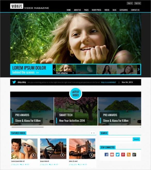 35+ Bootstrap Blog Themes  Templates Free  Premium Templates
