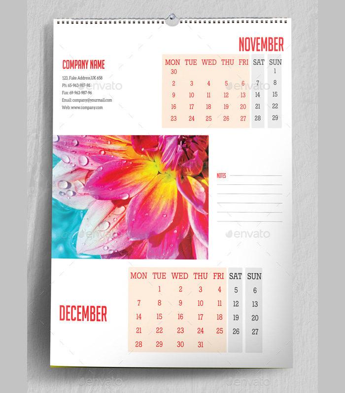 40+ Sample 2015 Calendar Templates  Designs Free Free  Premium - calendar sample design