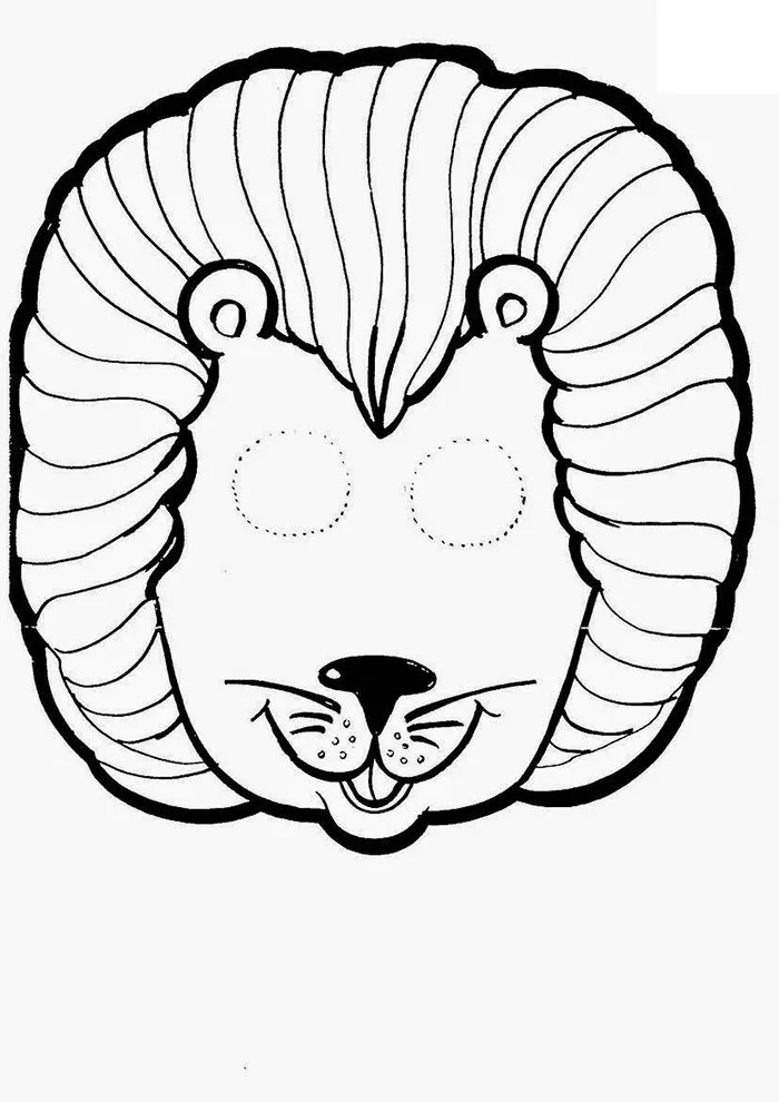 Animal Mask Template - Animal Templates Free  Premium Templates