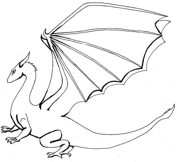 Dragon Template - Animal Templates Free  Premium Templates