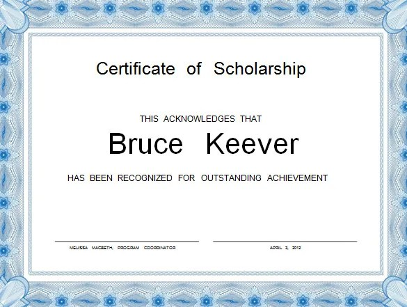 free download certificates templates - Onwebioinnovate - download certificate templates
