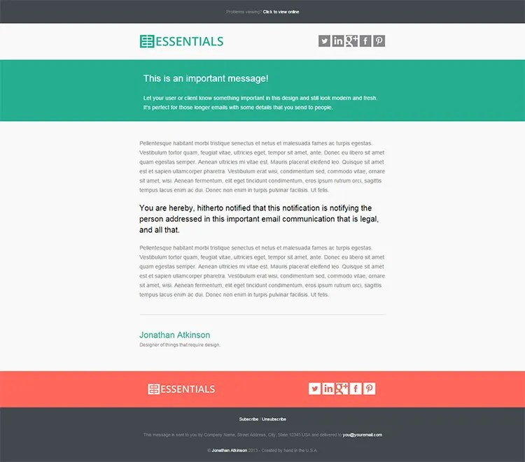20+ Business Email Templates \ Samples Free \ Premium Templates - business email template