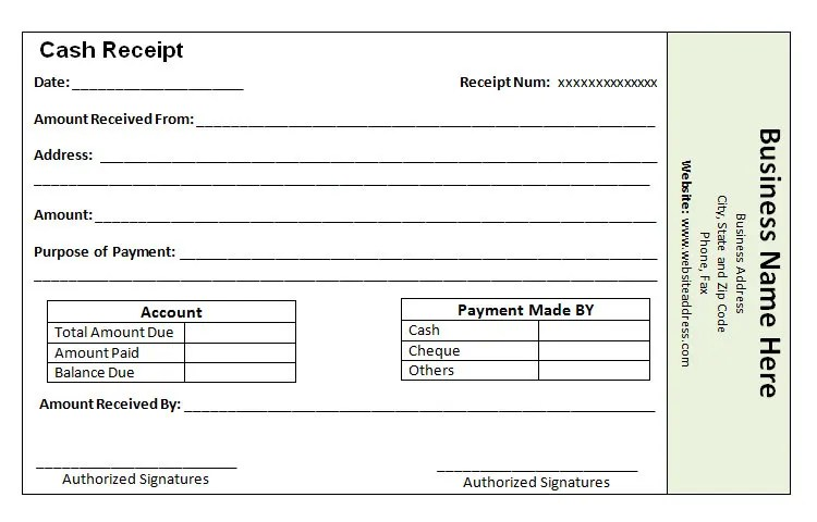 40+ Payment Receipt Templates - DOC, PDF Free  Premium Templates - Examples Of Receipts For Payment