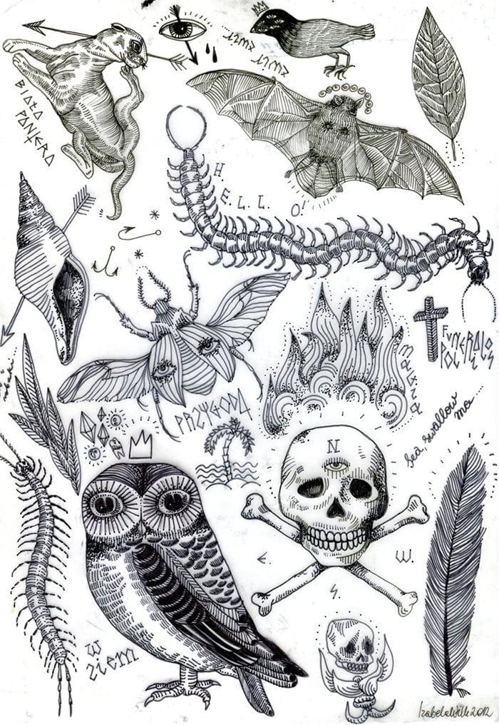 Doc#585426 Tattoo Template u2013 15 Best Tattoo Template Designs - tattoo template