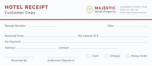 40+ Payment Receipt Templates - DOC, PDF Free  Premium Templates